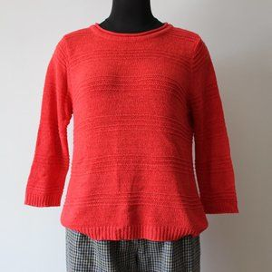 Allison Daley Red Sweater
